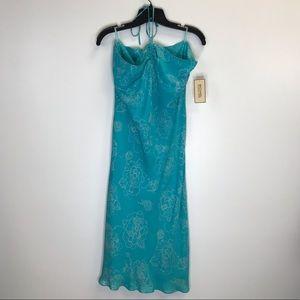 NWT Michael Kors Beachy Tropical Halter Tie Dress